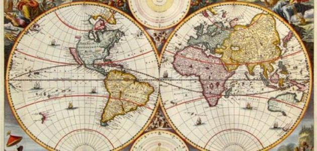 مراحل تطور الفكر الجغرافي