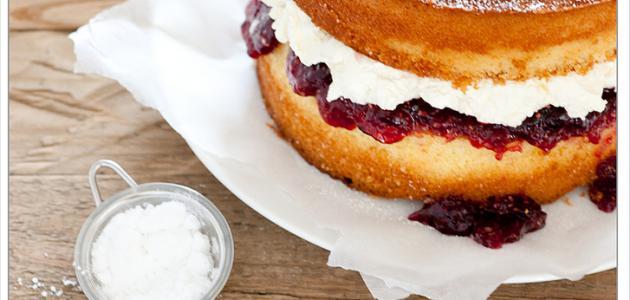 طريقة عمل الكيكة الإسفنجية بنجاح
