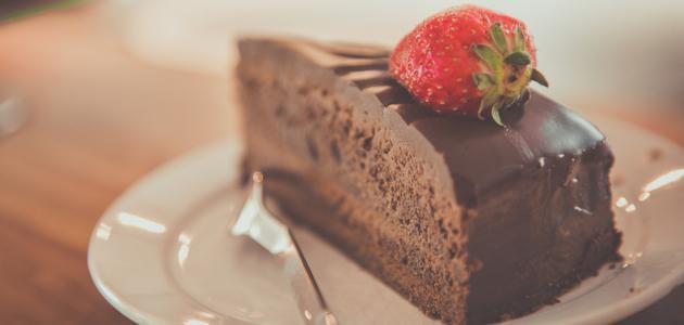 طريقة كيكة شوكولاتة بالصوص