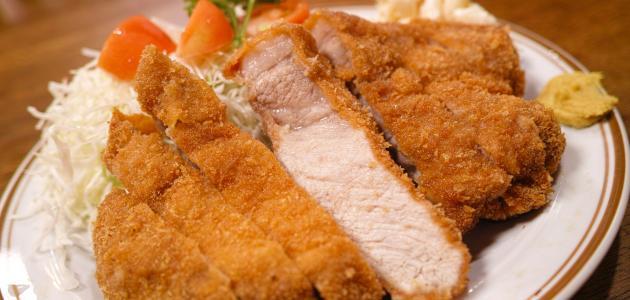 Way fried chicken fillet