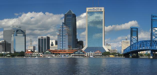 مدينة جاكسونفيل في فلوريدا