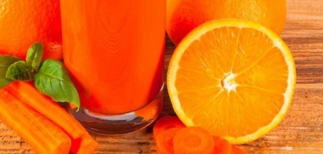 فوائد الجزر والبرتقال للبشرة