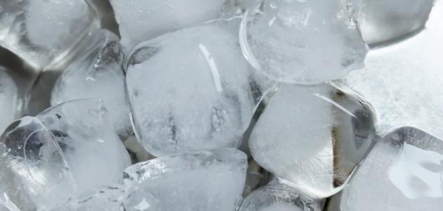 فوائد الثلج للصداع