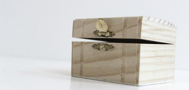 طريقة عمل صندوق من الخشب