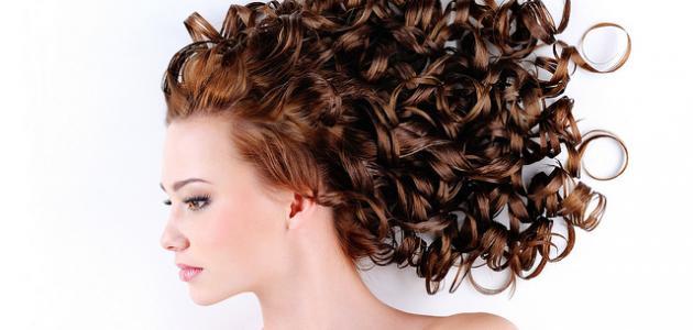 طريقة لتجعيد الشعر