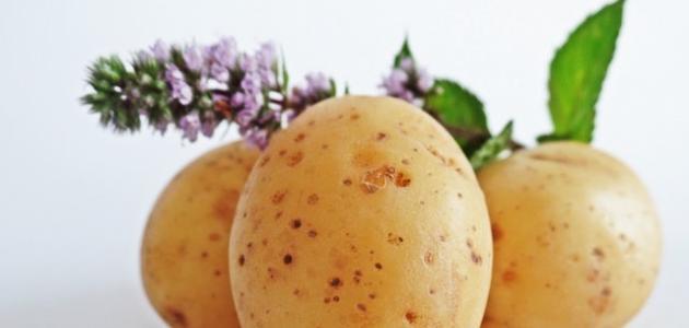 فوائد البطاطس والحليب للبشرة