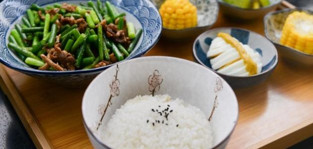 فوائد الأرز الابيض للرجيم