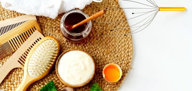 فوائد البيض والعسل والزبادي للشعر