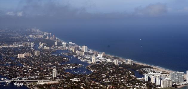 مدينة فورت لودرديل في فلوريدا