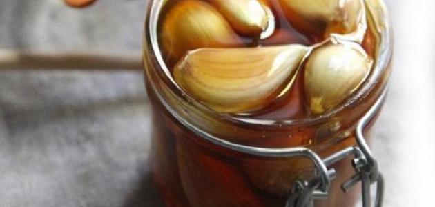 فوائد الثوم مع خل التفاح