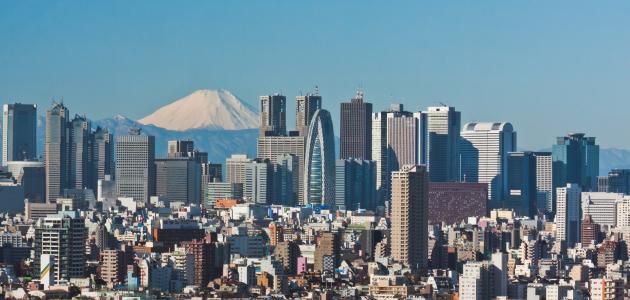 معلومات عن مدينة طوكيو