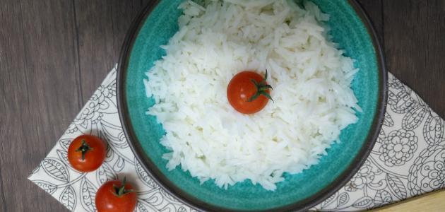 طريقة عمل أرز أبيض عادي