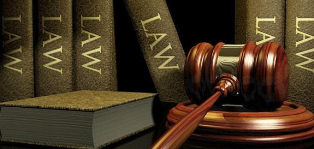 ما هو تخصص القانون