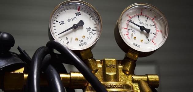 مفهوم ضغط الغاز