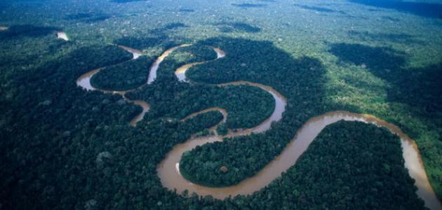 ما أعرض نهر في العالم