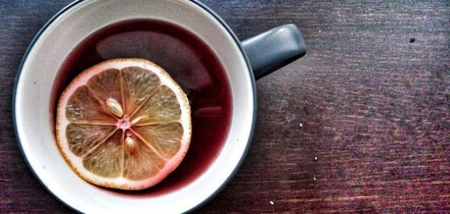 فوائد الشاي الأحمر بالليمون للتنحيف