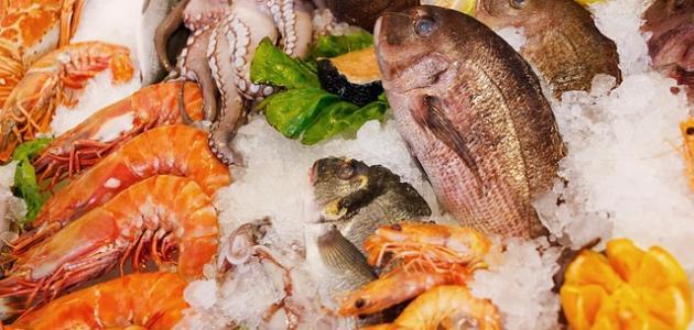 فوائد السمك والجمبري