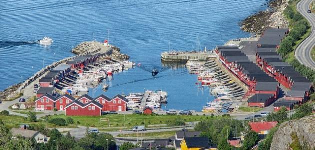 مدينة بودو في النرويج