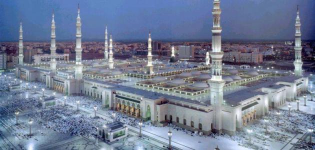 كم عدد أبواب المسجد النبوي الشريف
