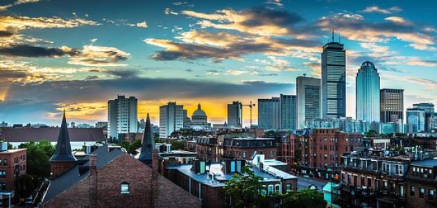 مدينة بوسطن الأمريكية