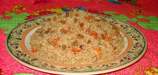 طريقة عمل أرز بشاور