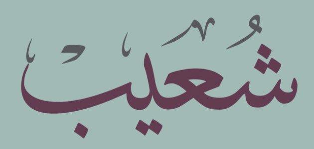 معلومات عن النبي شعيب