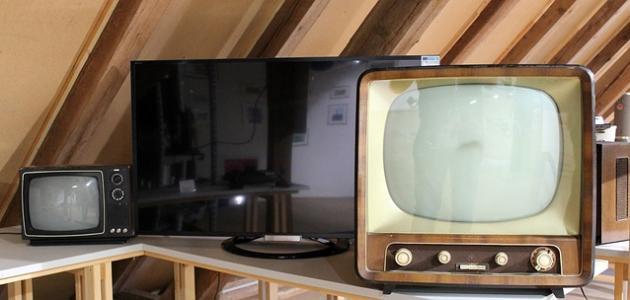 متى تم اختراع جهاز التلفاز