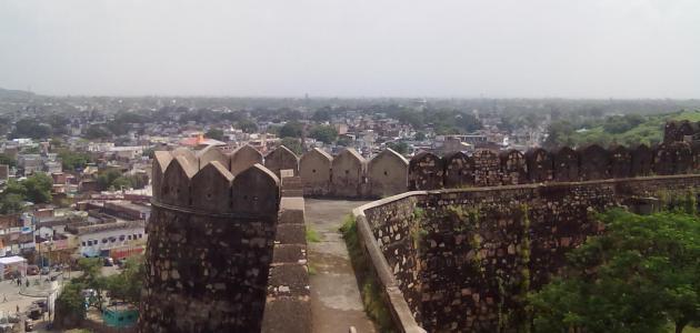 مدينة جانسي في الهند