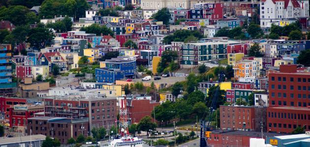مدينة سان جون في كندا