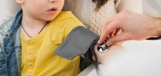 ارتفاع الضغط عند الأطفال