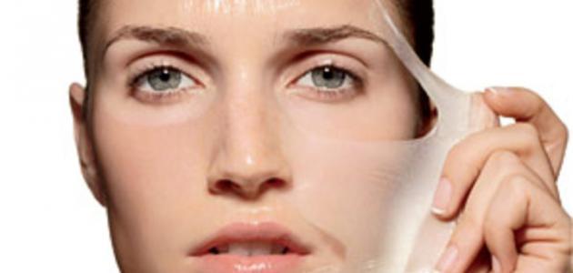تقشير الوجه طبيعياً