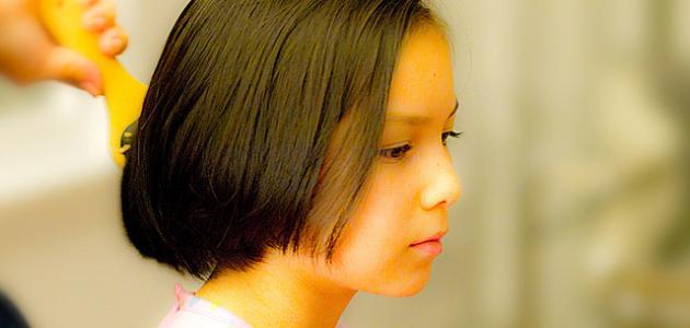 طرق تقوية شعر الأطفال