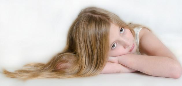 طرق فرد الشعر للأطفال