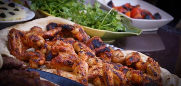 طريقة تتبيل الدجاج المشوي مثل المطاعم
