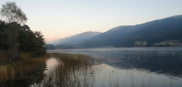 بحيرة آبانت في تركيا