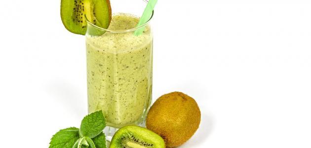 وصفة عصير الكيوي والليمون - فيديو