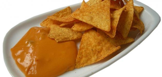 وصفة صلصة الجبنة للناتشوز - فيديو