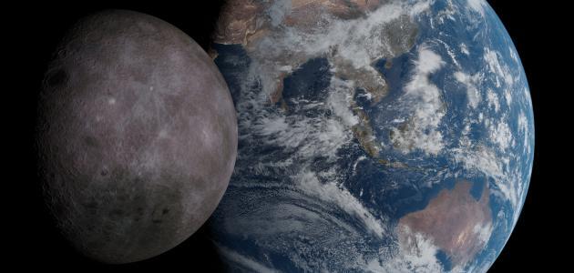 عدد الأقمار التي تدور حول الأرض