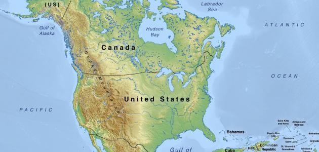 عدد الدول في قارة أمريكا الشمالية