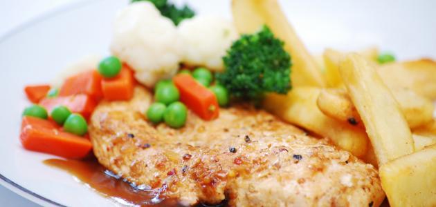 طريقة عمل ستيك دجاج صحي