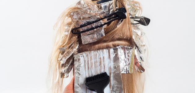 طريقة عمل صبغة الشعر بالمنزل