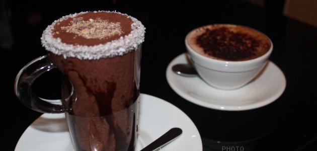 طريقة عمل قهوة بالشوكولاتة