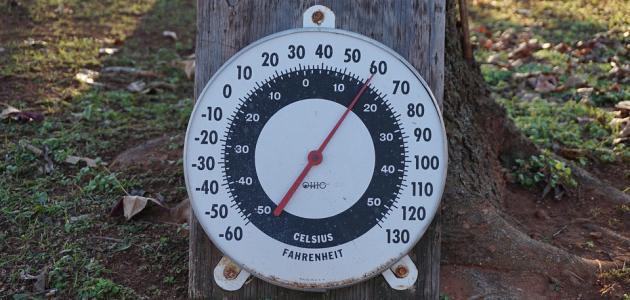 مقياس درجة الحرارة فهرنهايت