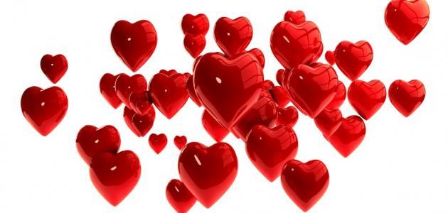 كلمات رقيقة عن الحب
