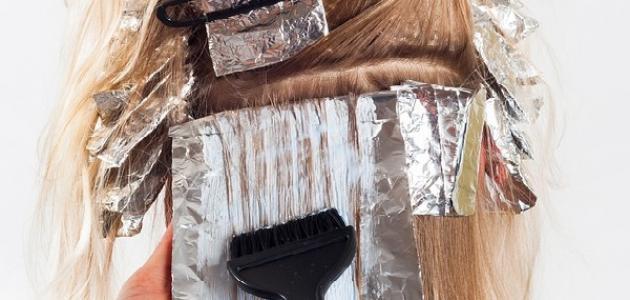 ما هي أضرار صبغة الشعر