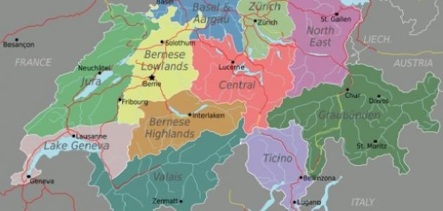 عدد اللغات في سويسرا