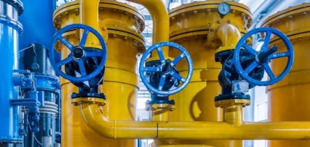 كيف يكون ضغط الغاز