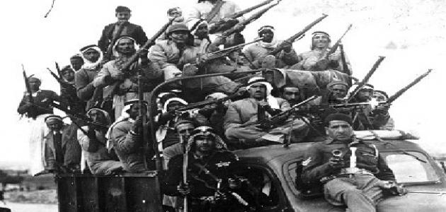 كم عدد الدول العربية التي دخلت في حرب 1948