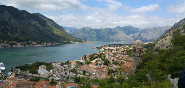 موقع دولة الجبل الأسود