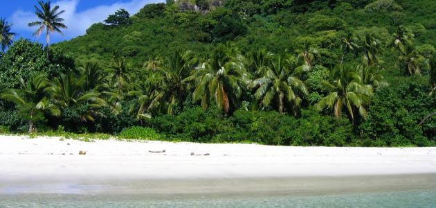 موقع جزيرة فيجي
